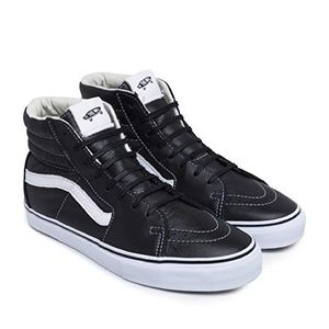 Vans Vault Sk8-Hi LX Black & White Leather